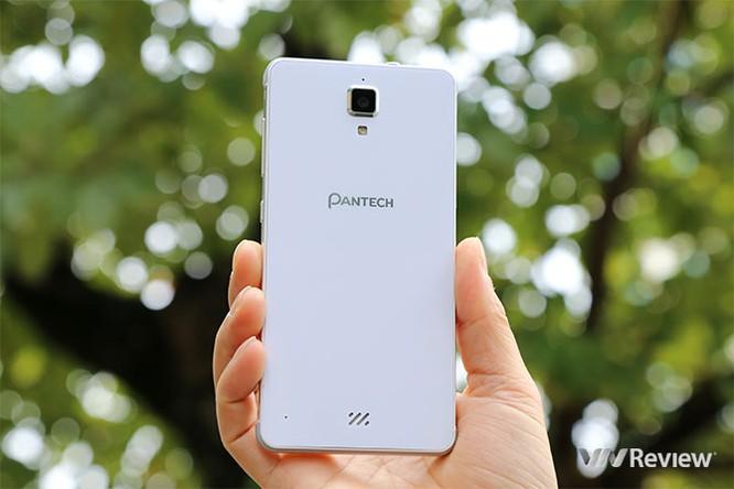 Trên tay điện thoại Pantech V950 sắp bán tại Việt Nam ảnh 2