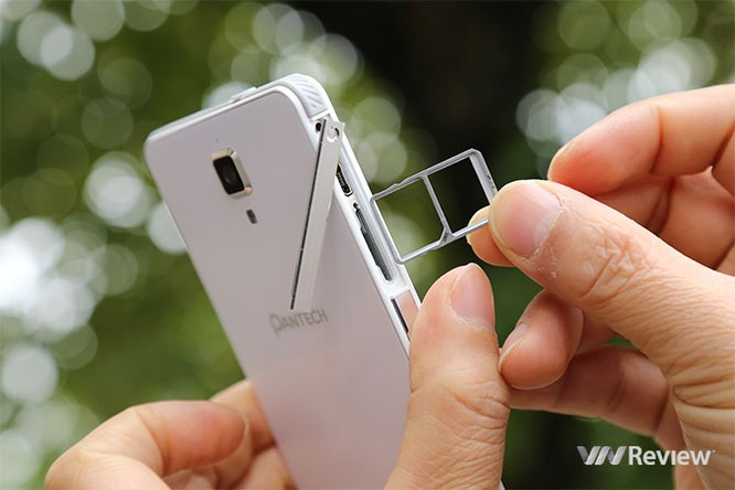 Trên tay điện thoại Pantech V950 sắp bán tại Việt Nam ảnh 4