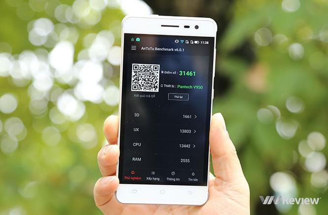 Trên tay điện thoại Pantech V950 sắp bán tại Việt Nam ảnh 12