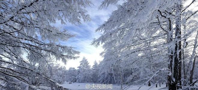Băng tuyết phủ trắng các danh thắng ở Trung Quốc ảnh 12