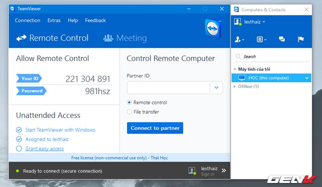Khám phá tính năng quét virus từ xa bằng TeamViewer ảnh 7