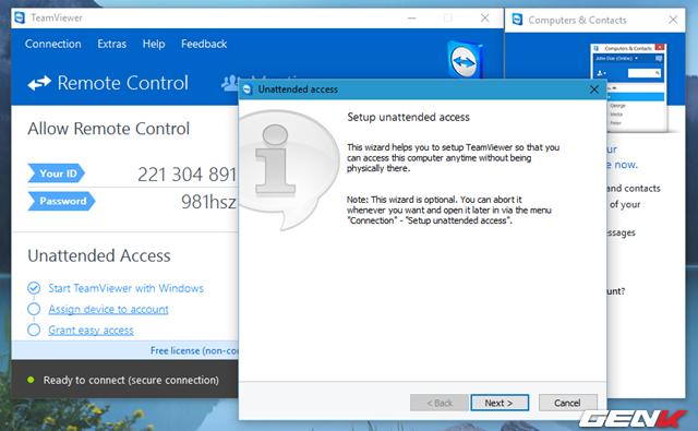 Khám phá tính năng quét virus từ xa bằng TeamViewer ảnh 4