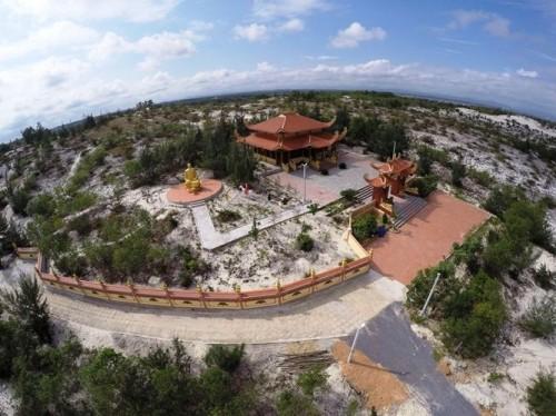 Mục sở thị lăng mộ 10 tỷ độc nhất vô nhị trên vùng sa mạc Quảng Bình ảnh 3