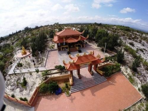 Mục sở thị lăng mộ 10 tỷ độc nhất vô nhị trên vùng sa mạc Quảng Bình ảnh 4
