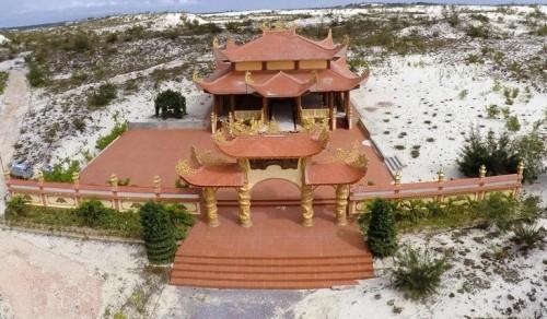 Mục sở thị lăng mộ 10 tỷ độc nhất vô nhị trên vùng sa mạc Quảng Bình ảnh 8