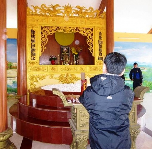 Mục sở thị lăng mộ 10 tỷ độc nhất vô nhị trên vùng sa mạc Quảng Bình ảnh 12