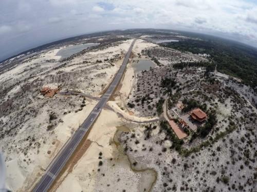 Mục sở thị lăng mộ 10 tỷ độc nhất vô nhị trên vùng sa mạc Quảng Bình ảnh 1