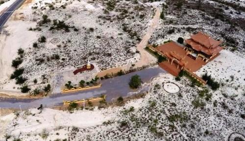 Mục sở thị lăng mộ 10 tỷ độc nhất vô nhị trên vùng sa mạc Quảng Bình ảnh 7