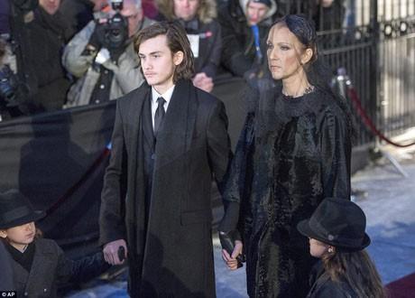 Điếu văn tưởng nhớ cha của con trai Celine Dion làm người hâm mộ xúc động mạnh ảnh 3