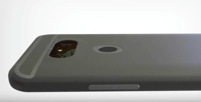 Video: Cận cảnh bản dựng smartphone LG G5 ảnh 2
