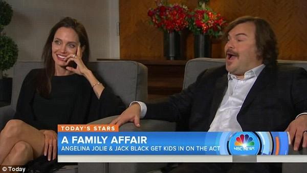 Ngôi nhà vợ chồng Angelina Jolie xáo trộn vì 1 người vô gia cư ảnh 1