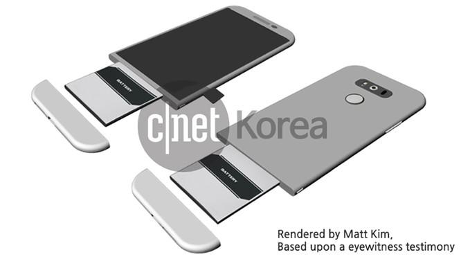 Cận cảnh LG G5 qua thông tin rò rỉ ảnh 7