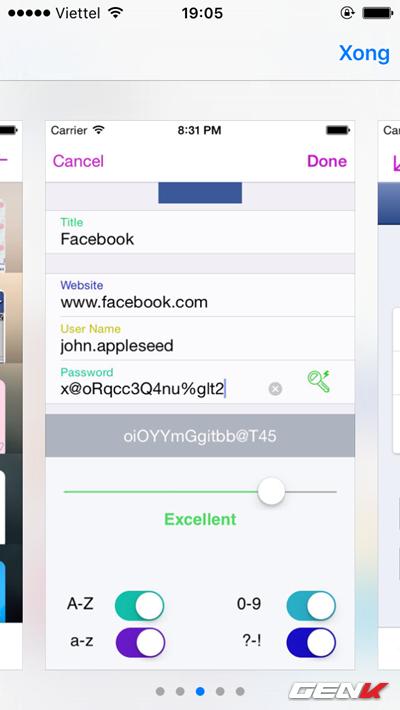 5 cách tốt nhất để quản lí mật khẩu trên iPhone, iPad ảnh 8