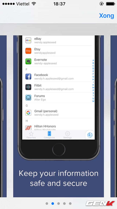 5 cách tốt nhất để quản lí mật khẩu trên iPhone, iPad ảnh 4