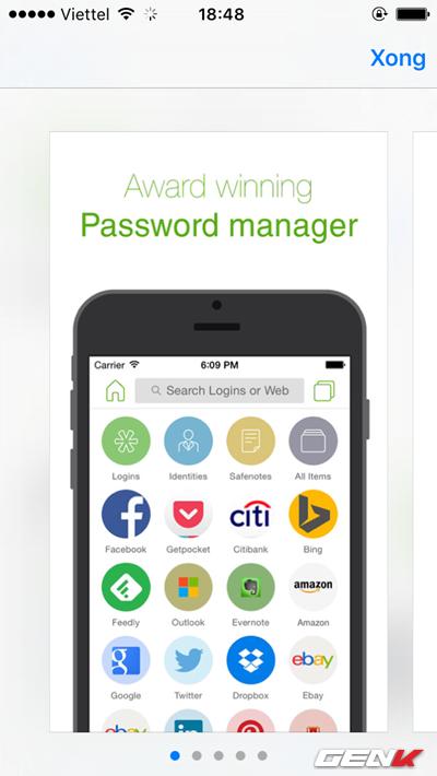 5 cách tốt nhất để quản lí mật khẩu trên iPhone, iPad ảnh 6