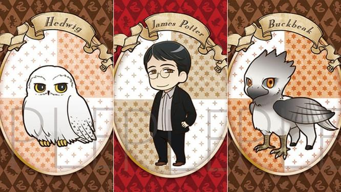 Chiêm ngưỡng các nhân vật Harry Potter phiên bản anime ảnh 4