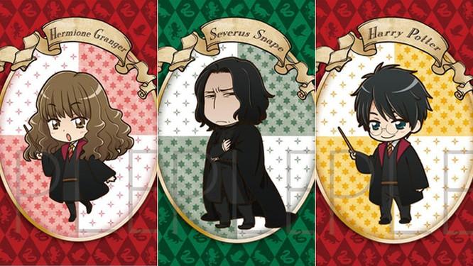 Chiêm ngưỡng các nhân vật Harry Potter phiên bản anime ảnh 1
