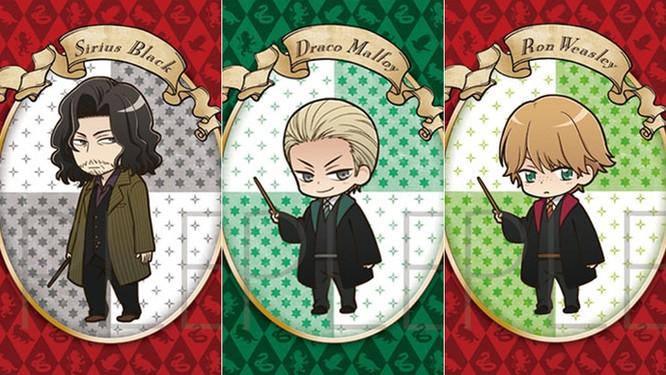 Chiêm ngưỡng các nhân vật Harry Potter phiên bản anime ảnh 2