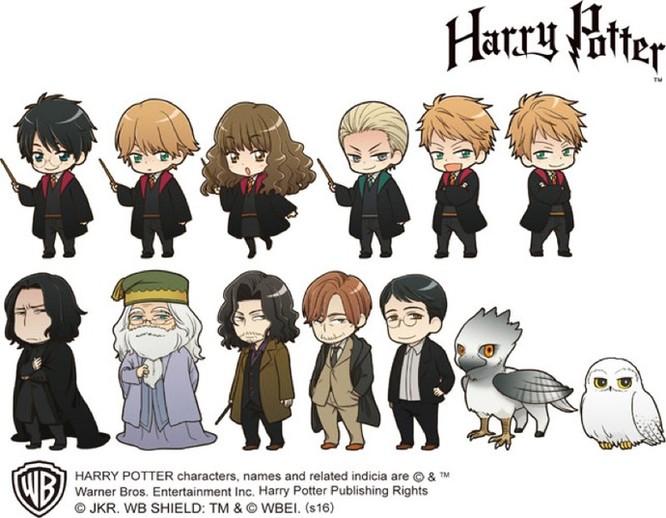 Chiêm ngưỡng các nhân vật Harry Potter phiên bản anime ảnh 5