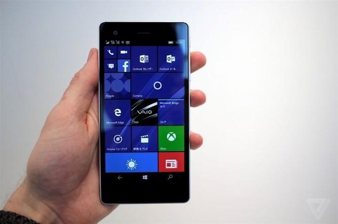 Chiêm ngưỡng smartphone mới tuyệt đẹp của Vaio ảnh 3
