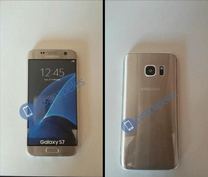 Galaxy S7 màu vàng lộ phiên bản thực tế ảnh 1