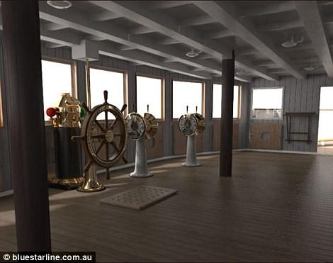 Video: Titanic sẽ lại ra khơi vào năm 2018 ảnh 18
