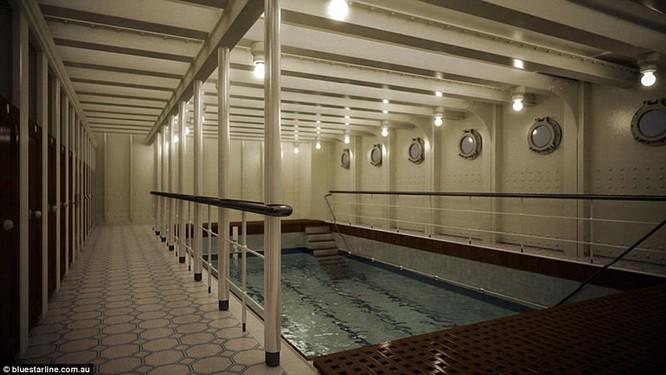 Video: Titanic sẽ lại ra khơi vào năm 2018 ảnh 25
