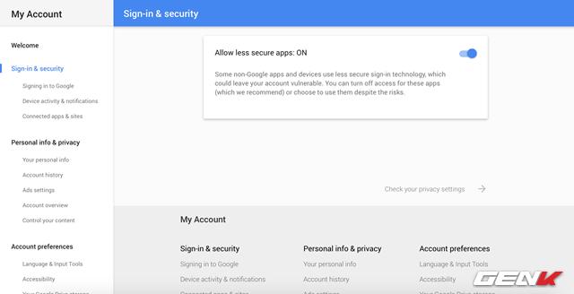 4 điểm cần kiểm tra để tài khoản Google an toàn ảnh 8