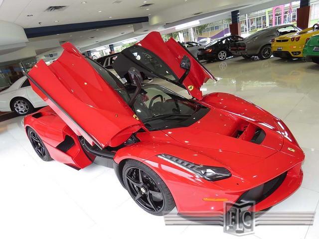Cận cảnh siêu xe Ferrari LaFerrari cũ giá 104,8 tỷ đồng ảnh 5