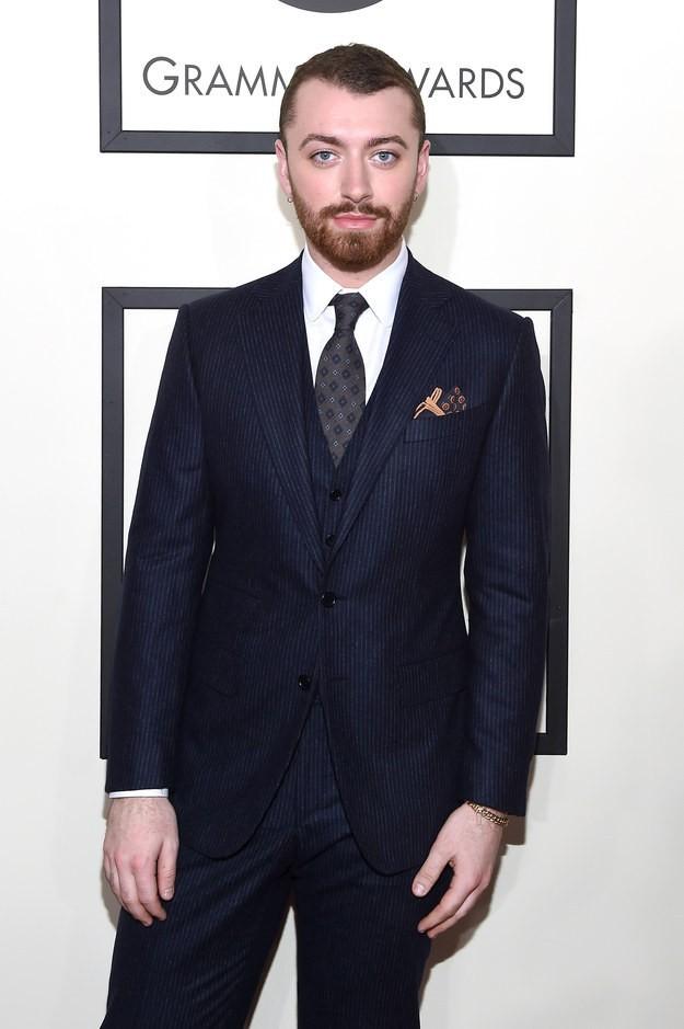 """23 """"mỹ nam"""" mặc đẹp nhất trên thảm đỏ Grammy 2016 ảnh 2"""