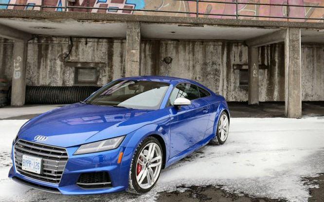 Cận cảnh Audi TTS 2016 giá 1,2 tỷ đồng ảnh 3