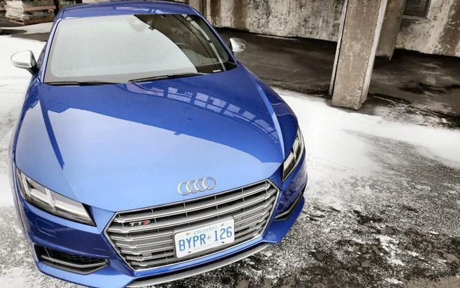 Cận cảnh Audi TTS 2016 giá 1,2 tỷ đồng ảnh 2