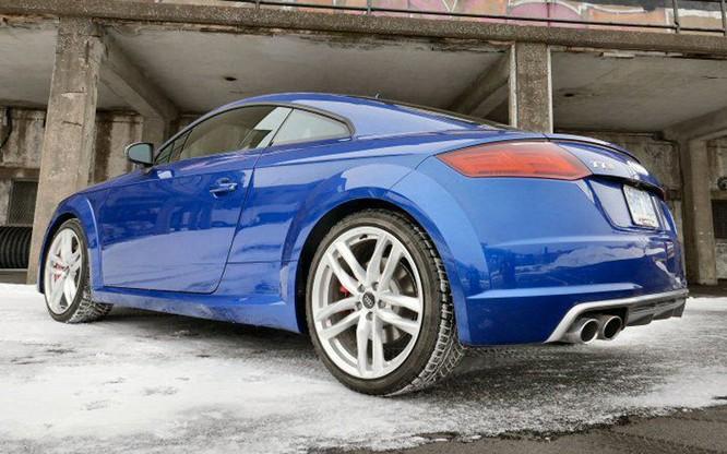 Cận cảnh Audi TTS 2016 giá 1,2 tỷ đồng ảnh 4
