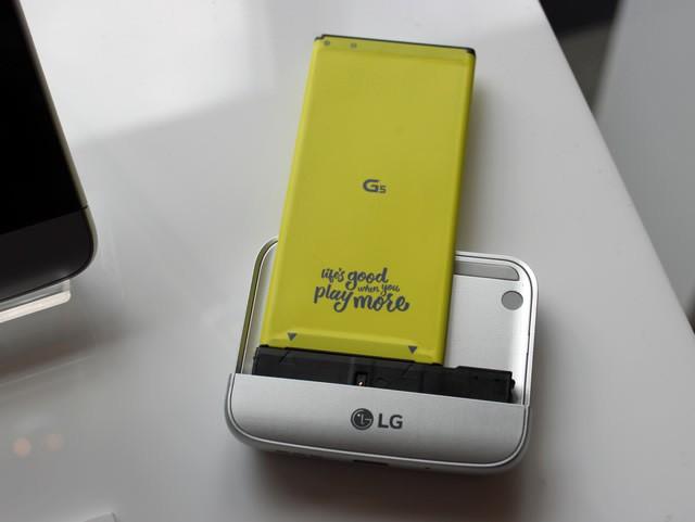 Cận cảnh LG G5: Chuẩn mới của smartphone cao cấp ảnh 14