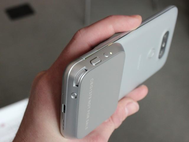Cận cảnh LG G5: Chuẩn mới của smartphone cao cấp ảnh 13