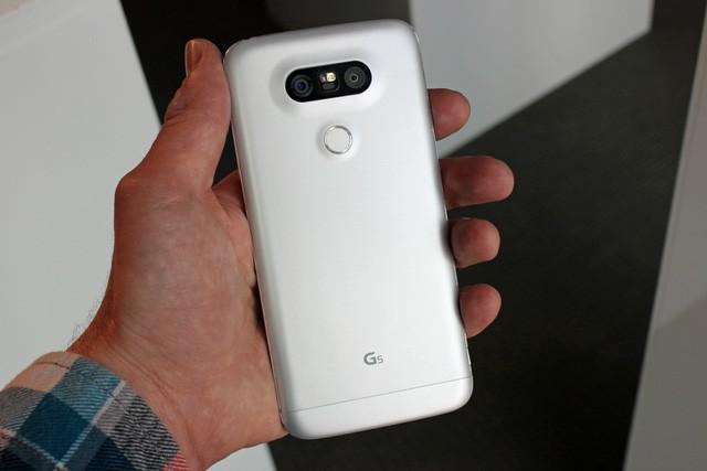 Cận cảnh LG G5: Chuẩn mới của smartphone cao cấp ảnh 4