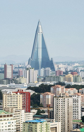 Ngắm kiến trúc hoành tráng và hoa lệ của Triều Tiên ảnh 5