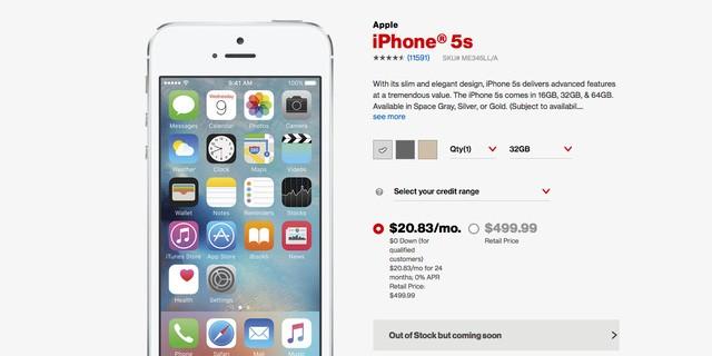 iPhone SE chưa ra mắt, iPhone 5s đã cháy hàng ảnh 1