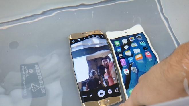 Video: Galaxy S7 edge so độ bền với iPhone 6S Plus ảnh 6