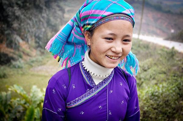 Vẻ đẹp đời thường của thiếu nữ dân tộc vùng cao ảnh 5