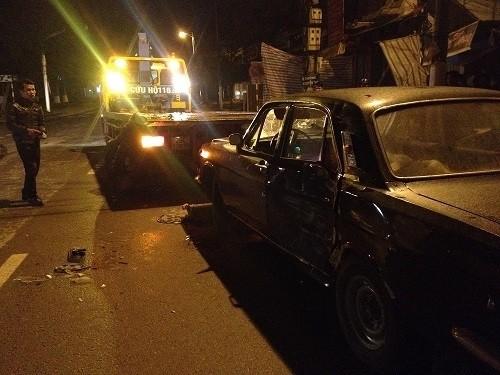 Xe biển xanh gây tai nạn liên hoàn, tài xế bị đánh trọng thương ảnh 1
