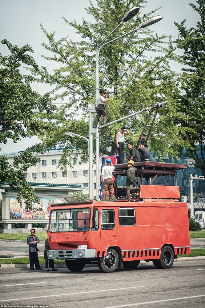 Những hình ảnh thường nhật hiếm thấy của Triều Tiên ảnh 25