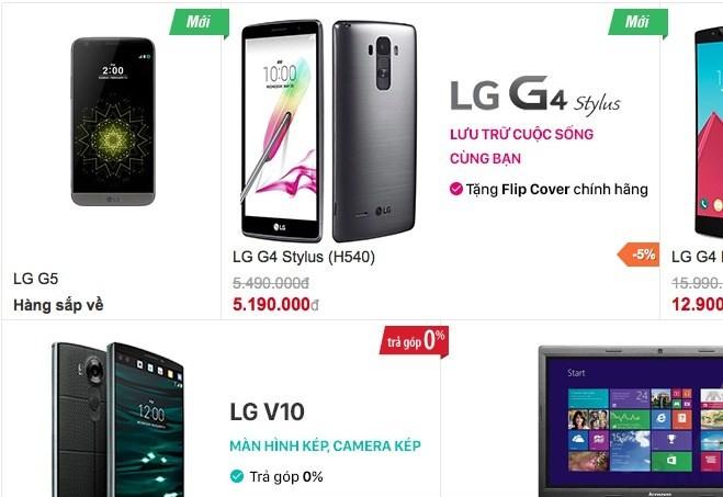 """""""Siêu phẩm"""" mới của LG sẽ còn rẻ hơn S7 của Samsung ảnh 1"""