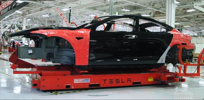 Cận cảnh nhà máy sản xuất xe hơi với 150 robot của Tesla ảnh 14