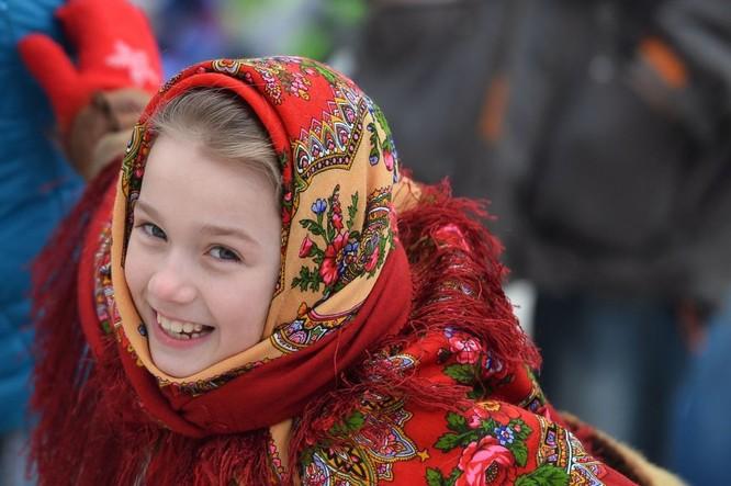 Người Nga nô nức với Lễ Giã biệt mùa Đông ảnh 10