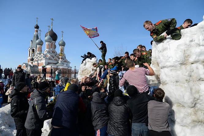 Người Nga nô nức với Lễ Giã biệt mùa Đông ảnh 1