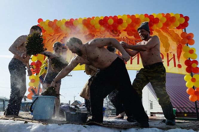 Người Nga nô nức với Lễ Giã biệt mùa Đông ảnh 5