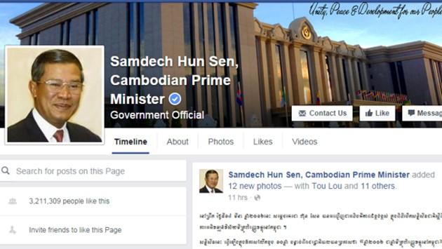 Cuộc chiến Facebook giữa Thủ tướng Hun Sen và lãnh đạo đối lập ảnh 1