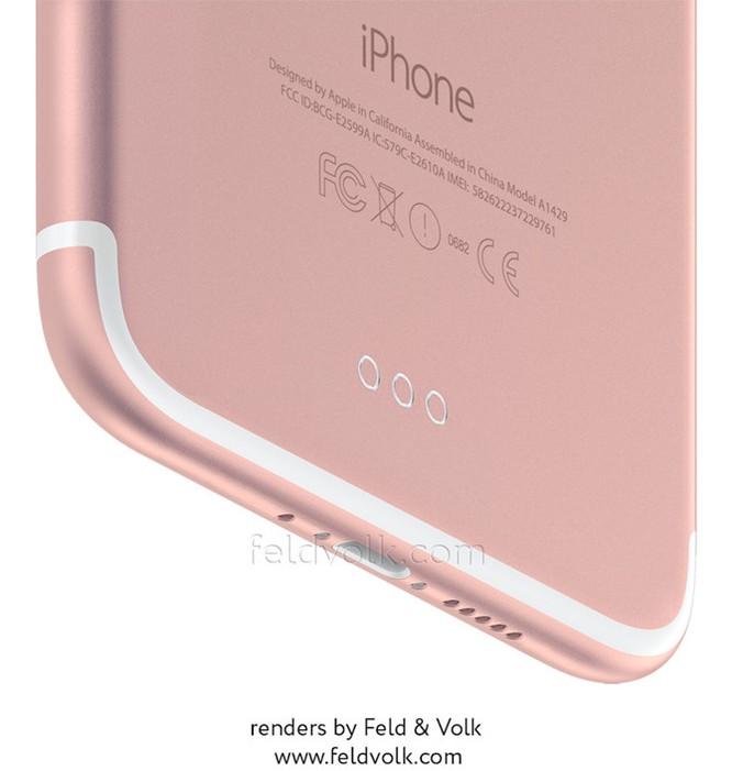 iPhone 7 Plus lộ ảnh thực tế camera kép lồi ảnh 3