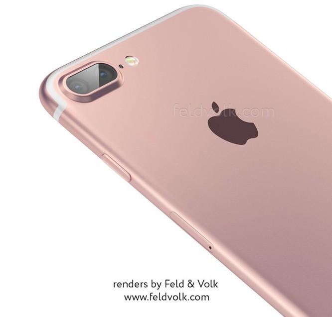 iPhone 7 Plus lộ ảnh thực tế camera kép lồi ảnh 1
